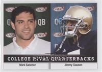 Mark Sanchez, Jimmy Clausen
