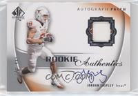 Rookie Authentic Signature Patch - Jordan Shipley [Noted] #/499