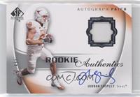 Rookie Authentic Signature Patch - Jordan Shipley #/499