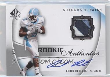 2010 SP Authentic - [Base] #134 - Andre Roberts /499