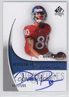 Rookie Authentics Signatures - Dezmon Briscoe #/599