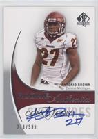 Rookie Authentics Signatures - Antonio Brown #/599