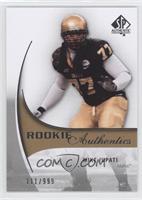 Rookie Authentics - Mike Iupati #/999