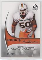 Rookie Authentics - Darryl Sharpton [Noted] #/999