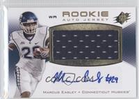 Rookie Auto Jersey - Marcus Easley /375