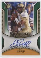 Rookie Signatures - Joe Webb /140