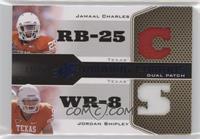 Jamaal Charles, Jordan Shipley #/25