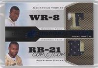 Demaryius Thomas, Jonathan Dwyer #/25