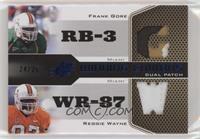 Frank Gore, Reggie Wayne #/25