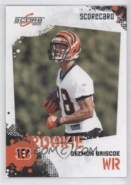 2010 Score - [Base] - Scorecard #335 - Dezmon Briscoe /499
