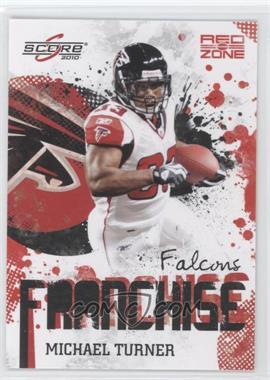2010 Score - Franchise - Red Zone #5 - Michael Turner /100
