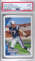 Rob Gronkowski (Ball in Right Arm) [PSA 9 MINT]