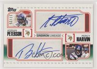 Adrian Peterson, Percy Harvin #/25