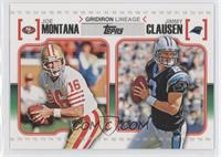 Joe Montana, Jimmy Clausen