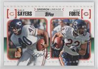 Gale Sayers, Matt Forte