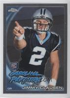 Jimmy Clausen (Pointing)
