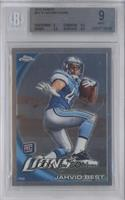 Jahvid Best (Ball in Left Hand) [BGS 9]