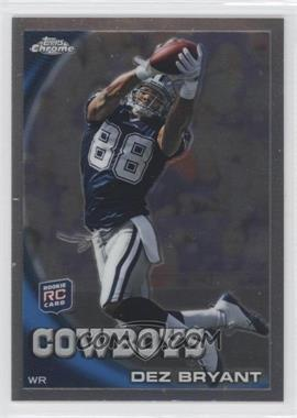 2010 Topps Chrome - [Base] #C60 - Dez Bryant