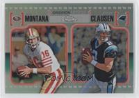 Joe Montana, Jimmy Clausen /99