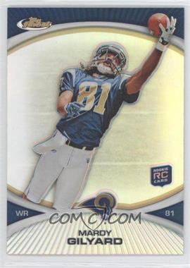2010 Topps Finest - [Base] - Refractor #32 - Mardy Gilyard