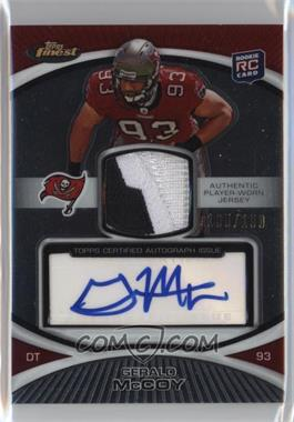 2010 Topps Finest - Rookie Patch Autographs #118 - Gerald McCoy /150