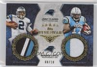 Jimmy Clausen, Brandon LaFell /10