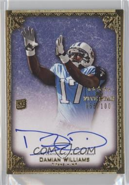2010 Topps Five Star - Futures Autographs #A-DW - Damian Williams /100