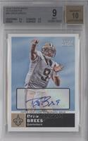 Drew Brees [BGS 9 MINT]