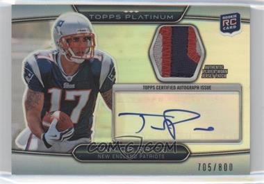 2010 Topps Platinum - Autographed Refractor Patch #ARP-TP - Taylor Price /800
