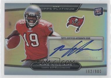 2010 Topps Platinum - Autographed Rookie Refractors #23 - Mike Williams /900