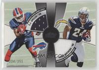 Ryan Mathews, C.J. Spiller #/355