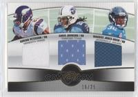 Adrian Peterson, Chris Johnson, Maurice Jones-Drew #/25
