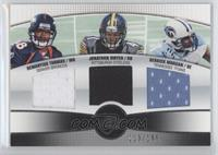 Jonathan Dwyer, Demaryius Thomas, Derrick Morgan /199