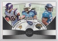 Adrian Peterson, Chris Johnson, Maurice Jones-Drew