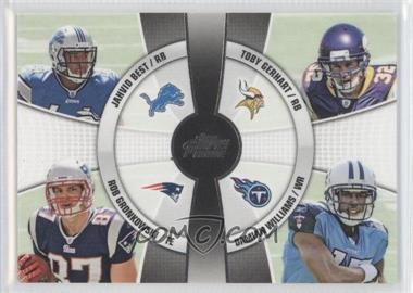 2010 Topps Prime - 4th Quarter #4Q-15 - Rob Gronkowski, Toby Gerhart, Jahvid Best, Damian Williams