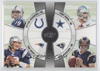 Peyton Manning, Tony Romo, Sam Bradford, Tom Brady