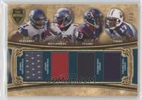 Golden Tate, Ben Tate, Mike Williams, Damian Williams /3