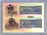 Sam Bradford, Tim Tebow /20