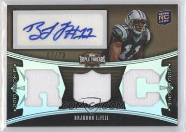 2010 Topps Triple Threads - [Base] - Sepia #120 - Brandon LaFell /70