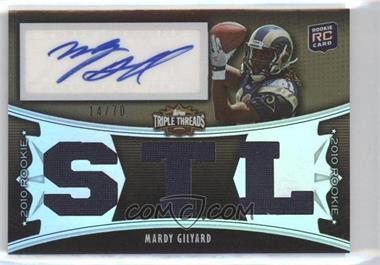 2010 Topps Triple Threads - [Base] - Sepia #128 - Mardy Gilyard /70