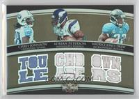 Chris Johnson, Adrian Peterson, Maurice Jones-Drew /27