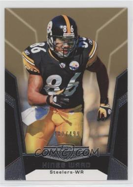 2010 Topps Unrivaled - [Base] - Gold #46 - Hines Ward /499
