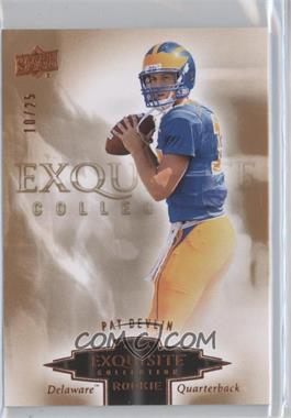 2010 Upper Deck Exquisite Collection - [???] #ER-PD - Pat Devlin /25