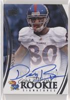 Rookie Signatures - Dezmon Briscoe #/65