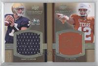 Jimmy Clausen, Colt McCoy #/50