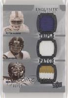 Peyton Manning, Eli Manning, Drew Brees #/25
