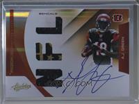 Rookie Premiere Materials NFL Signatures - A.J. Green /194