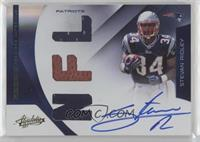 Rookie Premiere Materials NFL Signatures - Stevan Ridley [EX to NM] #…
