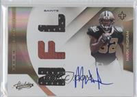 Rookie Premiere Materials NFL Signatures - Mark Ingram /199