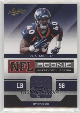 2e02e22f72a 2011 Absolute Memorabilia - NFL Rookie Jersey Collection  36 - Von Miller